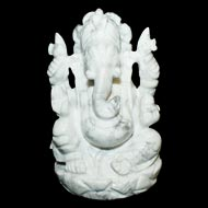 Howlite Ganesha - 325gm