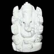 Howlite Ganesha - 202gm
