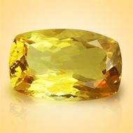 Yellow Citrine - 11.50 Carats - Cushion