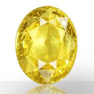 Yellow Sapphire  -  24.61 carat