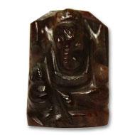 Gomedh Ganesha  -  50 carat