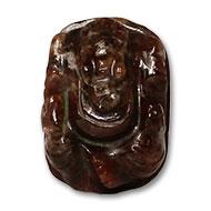 Gomedh Ganesha  -  39 carat