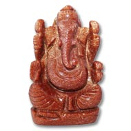 Sunstone Ganesha - 111 gm