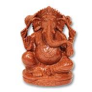 Sunstone Ganesha - 914 gms