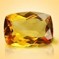 Yellow Citrine - 4.50 Carats - Cushion