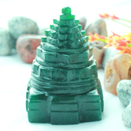Green Jade Shree Yantra - 115 gms