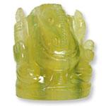 Fluorite Ganesha - 63 gms