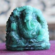 Ganesha in Emerald - 90 carats