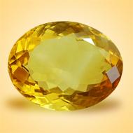 Yellow Citrine - 14 Carats - Oval