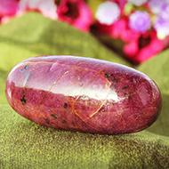 Shivlinga in Ruby - 297 carats