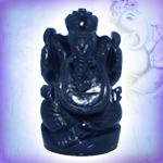 Blue Jade Ganesha - 87 gms