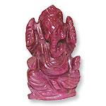 Ruby Ganesh - 95 carats