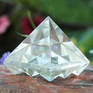 Crystal Multi Pyramid - Set of 2