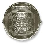Shree Yantra Ring in Silver