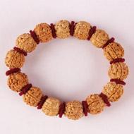 5 Mukhi Nepal Rudraksha Beads Bracelet - III