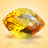 Yellow Citrine - 26 Carats - Marquise