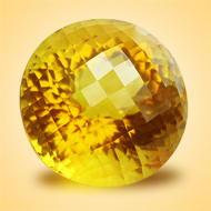 Yellow Citrine - 26 Carats - Round