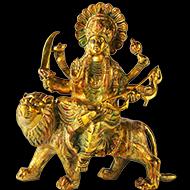 Durga Maa on Lion - III