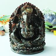Gomed Ganesha - 1185 gms
