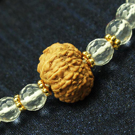 10 Mukhi Rakhi with Sphatik Beads and Panchdhatu accessories