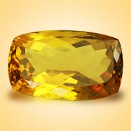 Yellow Citrine - 7.50 Carats - Cushion