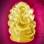 Ganesha in Lemon Topaz - 70 carat