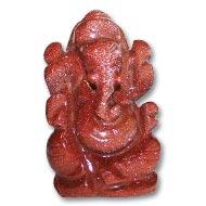 Sunstone Ganesha - 45 gms