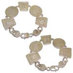 Yantra  combination  bracelet
