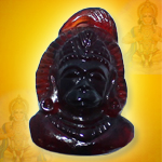 Hanuman in Gomed - 21.50 Carats