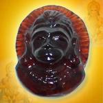 Hanuman in Gomed - 17.40 Carats