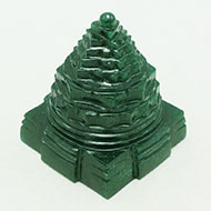 Green Jade Shree Yantra - 156 gms
