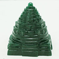 Green Jade Shree Yantra - 181 gms