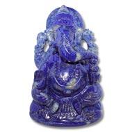 Lapis Lazuli Ganesha - 593 gms