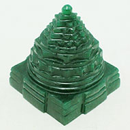 Green Jade Shree Yantra - 255 gms