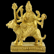 Maa Durga in Brass - III