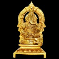 Ganesha in Brass - V