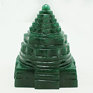 Green Jade Shree Yantra -  299 gms