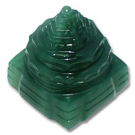 Shree Yantra in Columbian Green Jade