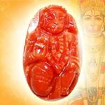 Coral Hanuman - 11.45 carats