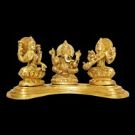 Laxmi Ganesh  Saraswati  Idol - I