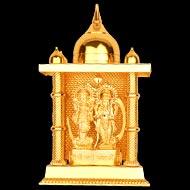 Laxmi Ganesh in Lead Temple