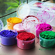 Holi Gulal - Set of six colors