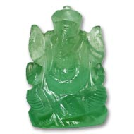 Fluorite Ganesha - 31 gms