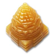 Yellow Jade Shree Yantra - 61 gms