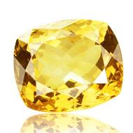 Yellow Citrine - 16 Carats - Square Cushion