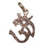 OM Locket in Pure Silver - Design VI