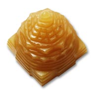 Yellow Jade Shree Yantra - 42 gms