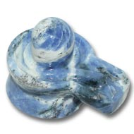 Blue Sodalite Shivling - 105  gm