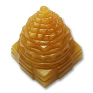 Yellow Jade Shree Yantra - 50 gms