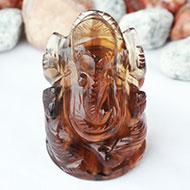 Ganesha in Fluorite - 89 gms